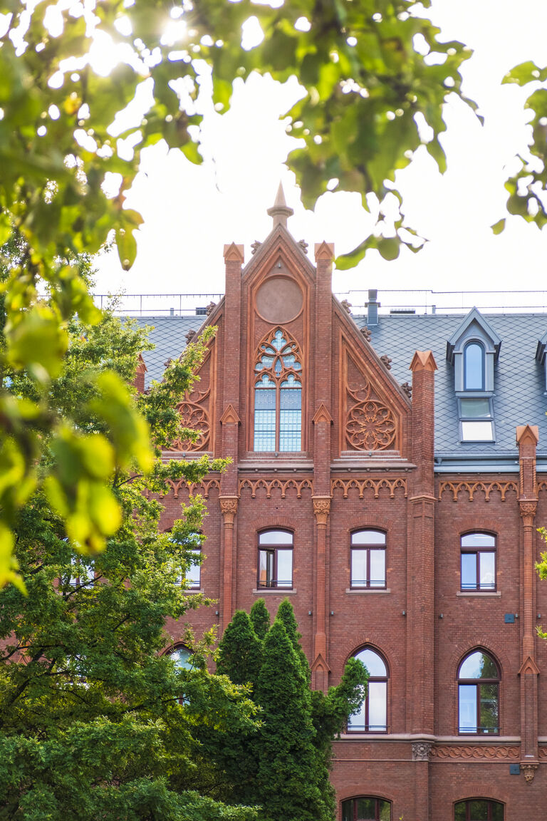 Budynek przy ul. Lastadia 41